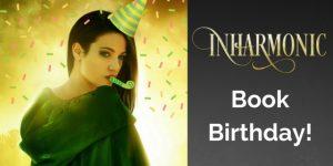 Inharmonic Book Birthday