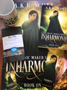 Inharmonic Book Birthday Giveaway