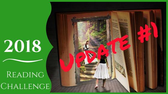 2018 reading challenge - Update 1